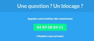 Le numero de telephone du service client activforte